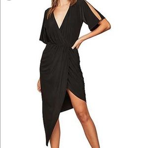 Miss Selfridge Split Sleeve Asymmetric Dress